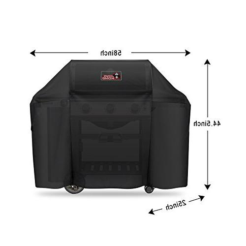 Kingkong Grill Cover for Genesis 3 and Genesis Series Grills including Brush, and Thermometer