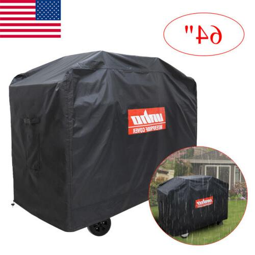 New Brand BBQ Grill Cover Waterproof Duty Beige for