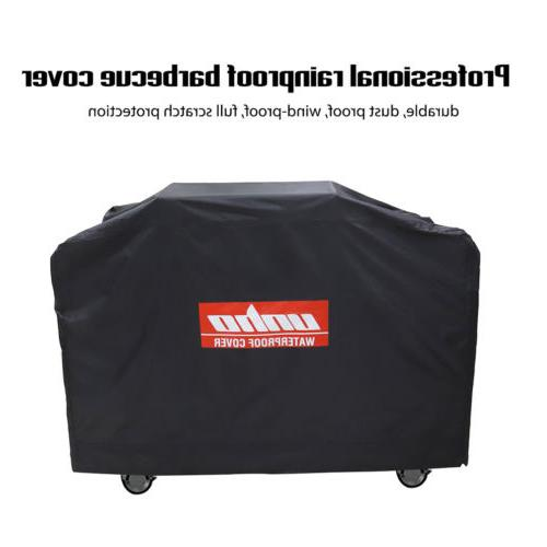 "New Brand BBQ Grill Cover 52-72"" Waterproof Heavy Duty Black"