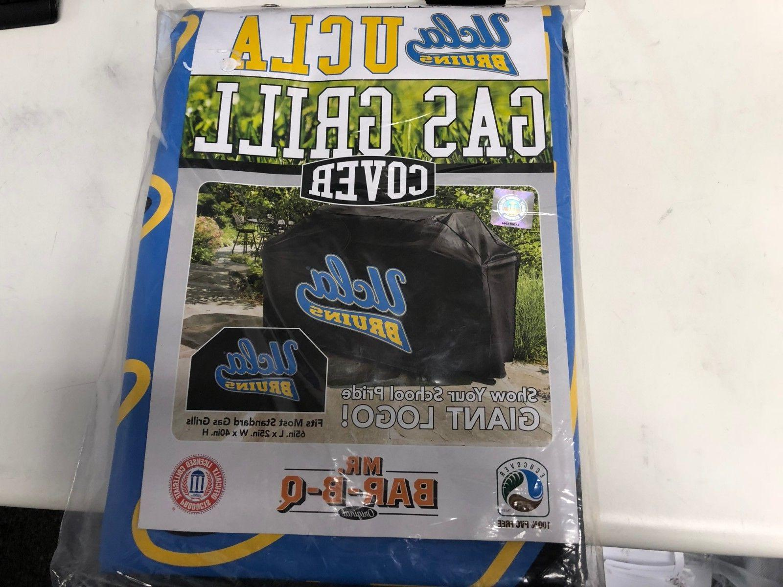 "NEW UCLA Bruins Gas Grill Cover Mr. Bar-B-Q  65""x25""x40"""
