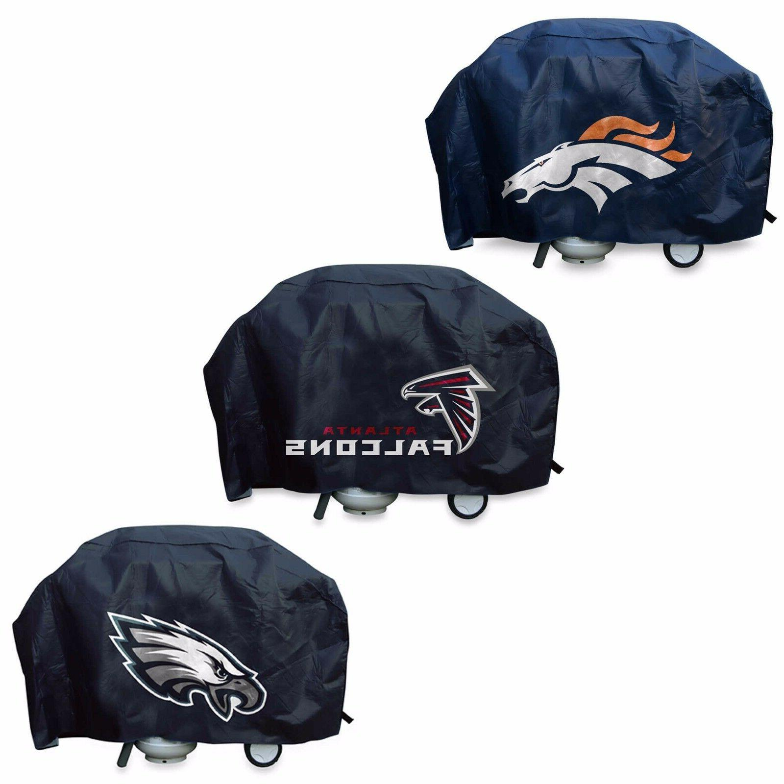 NFL Deluxe Vinyl Padded Grill Cover by Rico Industries -Sele