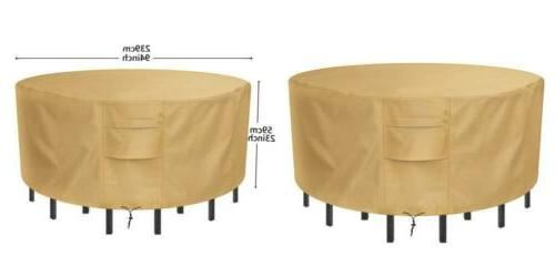 Patio Furniture Set Cover Waterproof & Wear-resistant for Ou