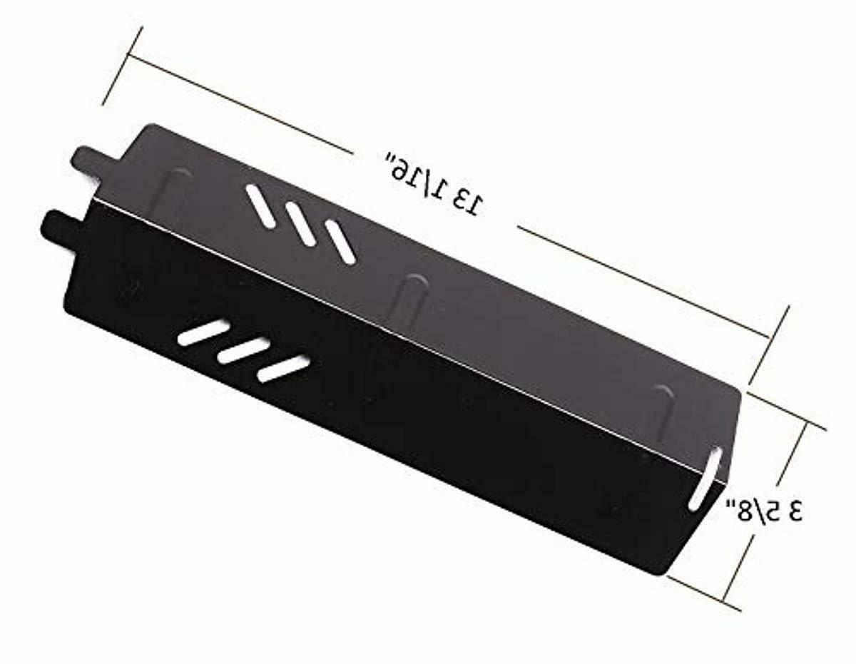 Porcelain Steel Heat Shield Burner For 3-Pack