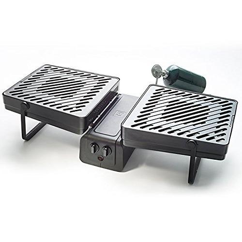 Portable Propane Grill 2-Burner Gas Tailgate Picnic Camping