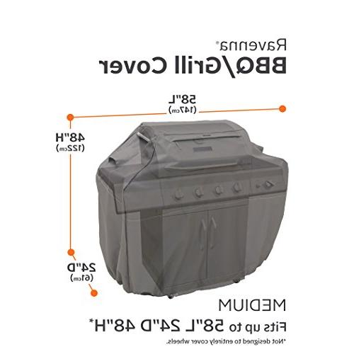 "Classic Grill Cover, Fits up to 58"", Taupe"