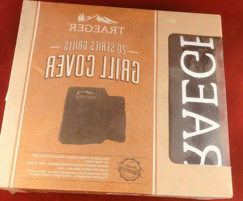 traeger bac374 black pellet grill cover form