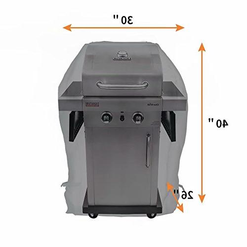NEXTCOVER Universal Gas Cover-30 inch Resistant Grill Cover for Broil, Jenn Brinkmann.– Black N21G801