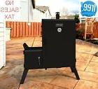 Vertical Charcoal Smoker Offset Grill Barbecue BBQ Wide Body