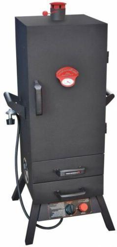 Smoky Mountain Vertical Propane Gas Smoker 38 in 2 Drawer Ou