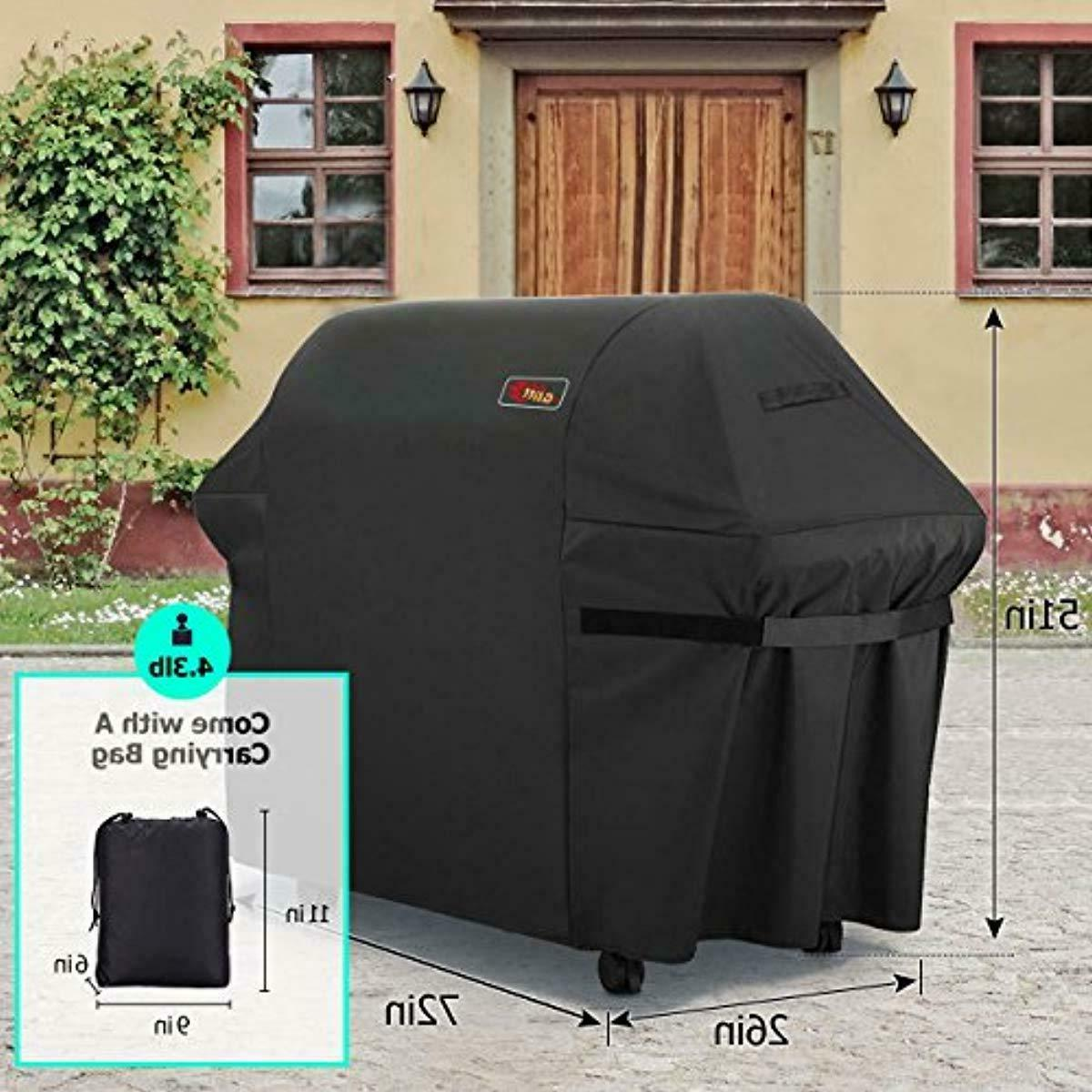 VicTsing 5+ Burner Gas Grill Cover, Fits Most Brands Grill-Large 7