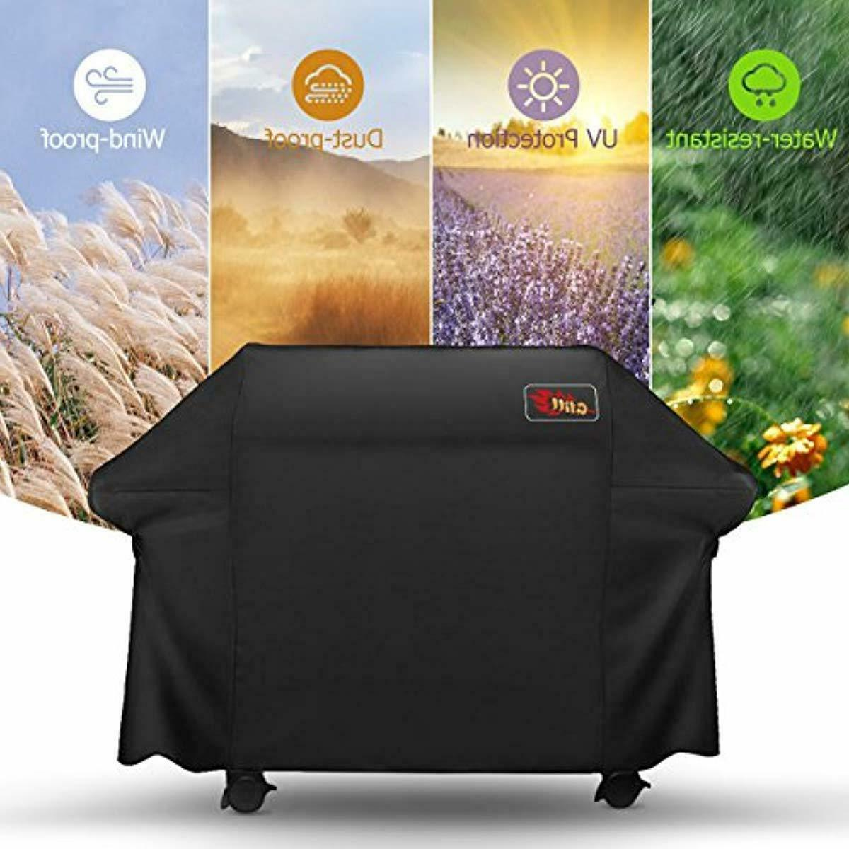 VicTsing 5+ Grill Cover, Fits Most Brands Grill-Large