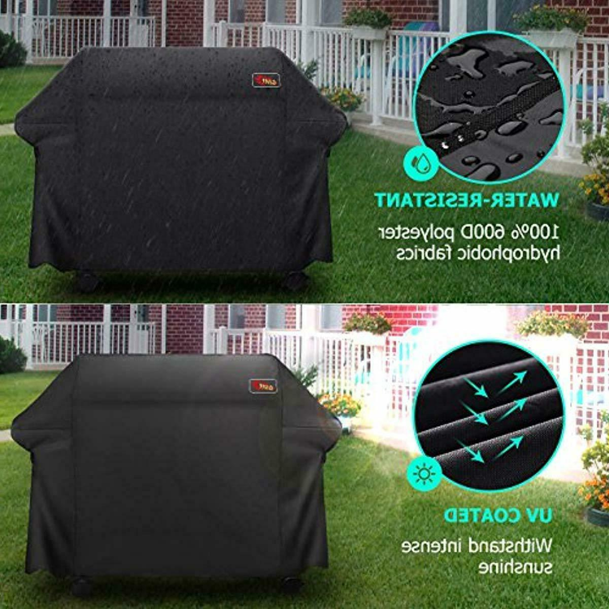 VicTsing 5+ Burner Grill Cover, Heavy Fits Brands Grill-Large