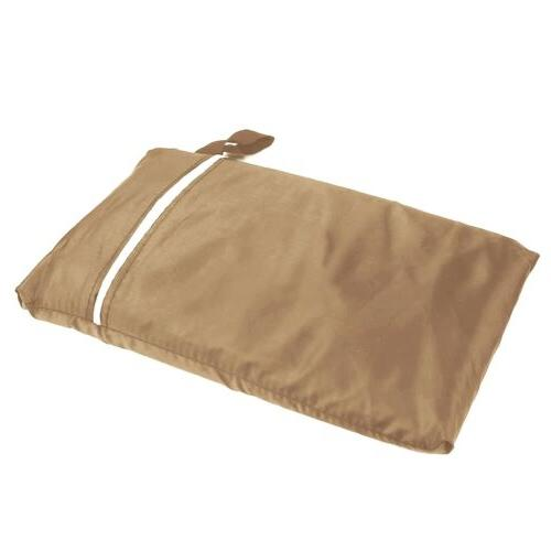 Waterproof BBQ Grill Cover Gas Outdoor Patio Tan