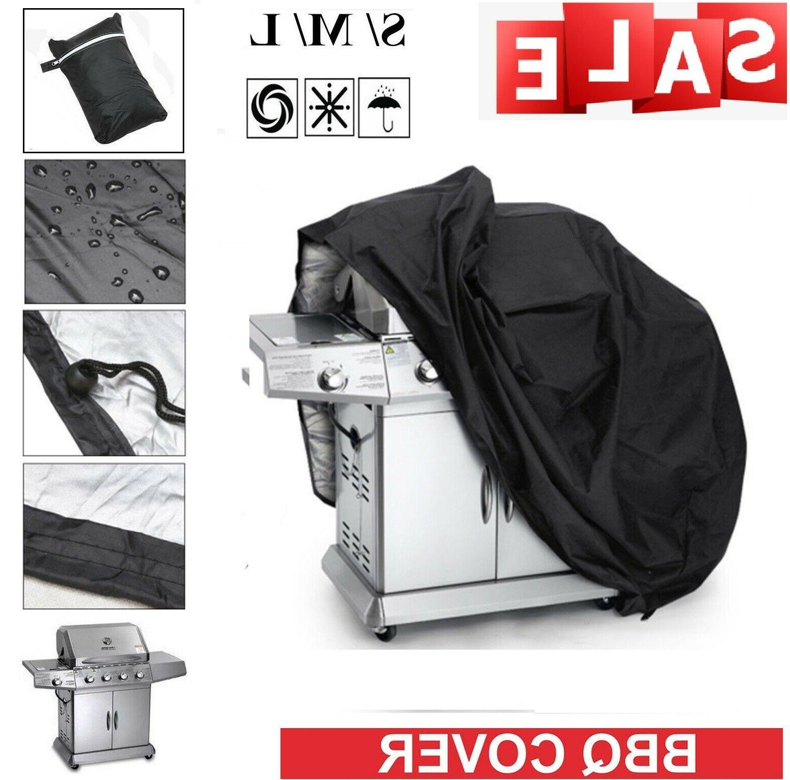 """Waterproof Grill Cover Gas Barbecue 3 Size 57"""" 75"""""""