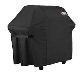 weber 7107 grill cover with black storage