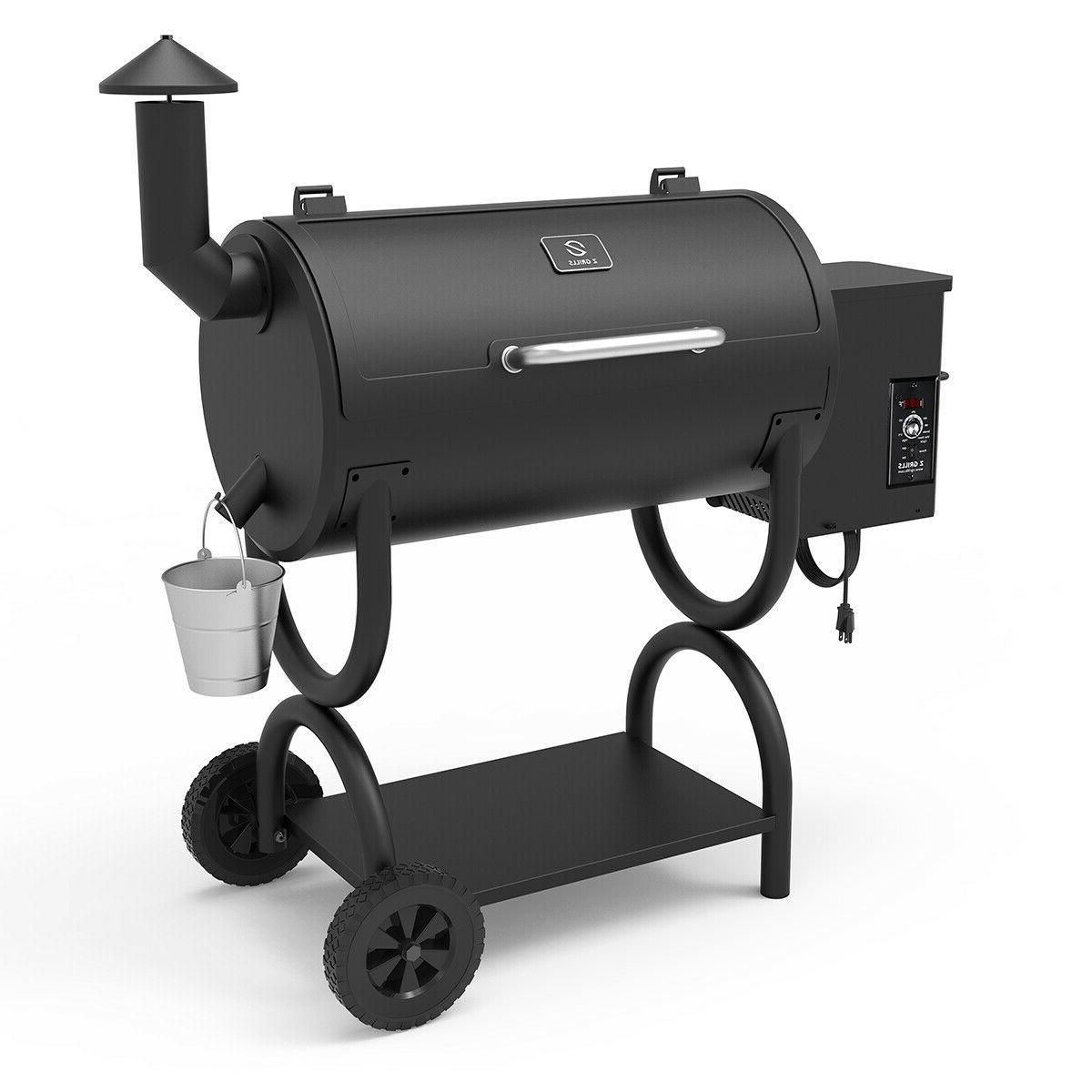 Z Grills Wood Grill Smoker