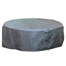 M&H Heavy Duty Waterproof Large Patio Set Cover - Outdoor Fu