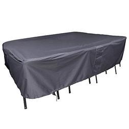 M&H Patio Furniture Set Premium Heavy Duty Waterproof TPU Co