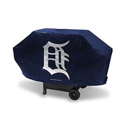 Rico Industries MLB Detroit Tigers Deluxe Grill Cover, Black