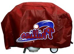 MLB Philadelphia Phillies Deluxe 68-inch Grill Cover