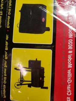 NEW Char-Griller #9155 Wood Fire Pellet Grill Cover Black FR