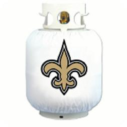 New Orleans Saints Propane Grill Tank Wrap Cover NFL Footbal