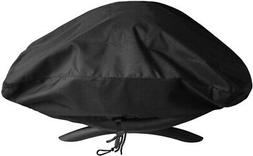 SunPatio Outdoor Grill Cover for Weber Q 100 1000 Series Gri