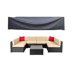 Mr.You Patio Cover,Patio Furniture Set Covers Waterproof Out