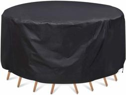 Patio Furniture Covers Waterproof Round Table Chair Set Heav