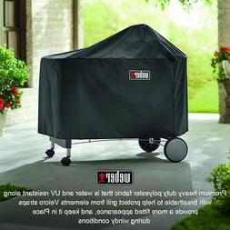 WEBER PERFORMER PREMIUM GRILL COVER WITH STORAGE BAG-7152 BR