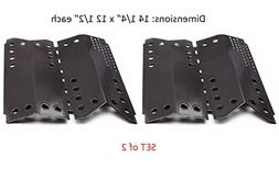 BBQ funland PH4332 Porcelain Steel Heat Plates, Heat Shield,