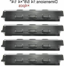 Porcelain Steel Heat Plates 4pk BBQ Gas Grill Parts Shield C