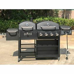 Smoke Hollow Pro Series 4-in-1 Gas & Charcoal Combo Grill ~