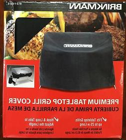 """Brinkmann Tabletop Grill Cover Up To 22"""" Long Camping Tool B"""