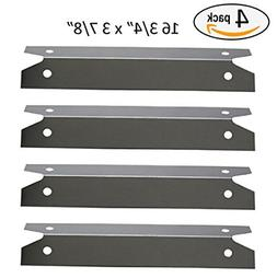 BBQ funland SH7311 4-pack Stainless Steel Heat Plate for Cha