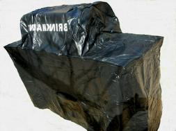 Brinkmann Small BBQ Grill Cover Lined has Custom Side Burner