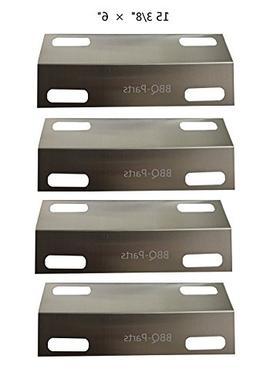 Burne Heat Tent Porcelain Steel Heat Plate Hongso Ppa631 Heat Shield 4-Pack