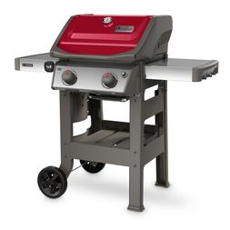 Weber Spirit II E-210 Propane Gas Grill Red Cover bbq  10 yr