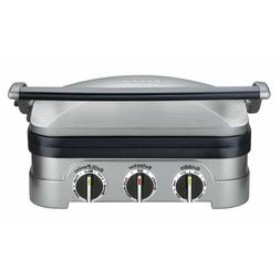 Cuisinart Stainless Griddler 5-in-1 Countertop Kitchen Grill