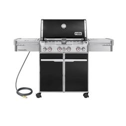 Weber Summit E-470 580-Square-Inch 48,800-BTU Natural-Gas Gr