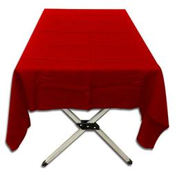 Table in a Bag TC60120R Polyester Poplin Tablecloth, 60-Inch
