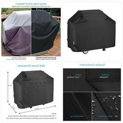 Unicook Heavy Duty Waterproof Barbecue Gas Grill Cover, 55-i