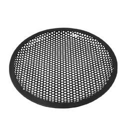 TOOGOO Universal 8 Inch Subwoofer Speaker Black Metal Waffle