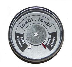 upright smoker temperature gauge one