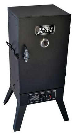 Hollow Vertical Propane Gas Smoker Outdoor Cooking Grill Alu