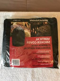 BRINKMANN VERTICAL SMOKER GRILL COVER 812-7090-S NIP ALL WEA