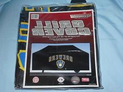 VINYL GRILL COVER Milwaukee Brewers  68x21x35 FITS MOST LARG