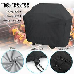 """BBQ Gas Grill Cover 52"""" Barbecue Waterproof Outdoor Heavy Du"""