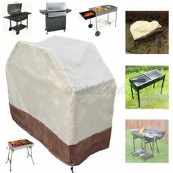 Waterproof BBQ Grill Cover Gas Heavy Duty for Home Patio Gar