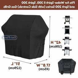 Waterproof Heavy Duty Grill Cover 7139 for Weber Spirit II 3